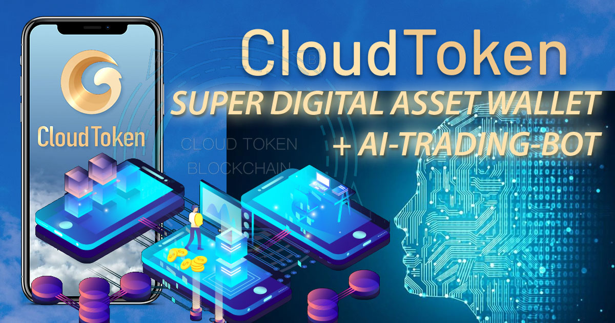 CLOUD TOKEN (CTO) - Decentralized multi-crypto wallet with